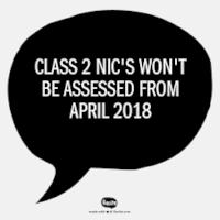 Paying Class 2 NICs