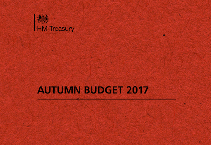 Autumn Budget November 2017 – Individuals
