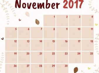 November key tax dates